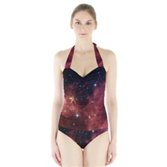 BARNARD 30 Women s Halter One Piece Swimsuit