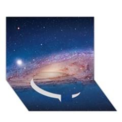 Andromeda Circle Bottom 3d Greeting Card (7x5)