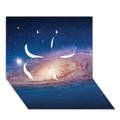 ANDROMEDA Clover 3D Greeting Card (7x5)