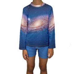ANDROMEDA Kid s Long Sleeve Swimwear