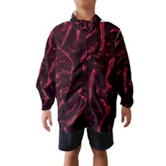 Luxury Claret Design Wind Breaker (Kids)