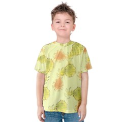 Shabby Floral 1 Kid s Cotton Tee