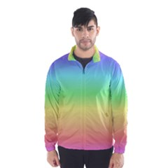 Rainbow Colors Wind Breaker (Men)