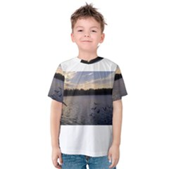 Intercoastal Seagulls 3 Kid s Cotton Tee