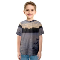 Intercoastal Seagulls 3 Kid s Sport Mesh Tees