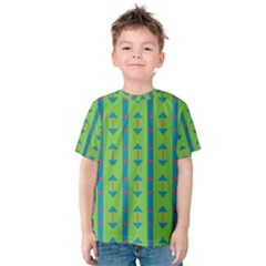 Arrows And Stripes Pattern Kid s Cotton Tee
