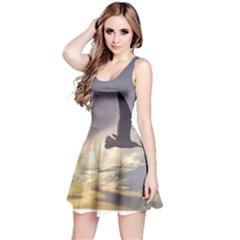 Fly Seagull Reversible Sleeveless Dresses