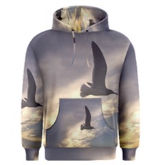Fly Seagull Men s Pullover Hoodies