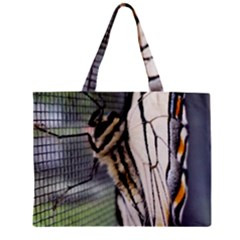 Butterfly 1 Zipper Tiny Tote Bags