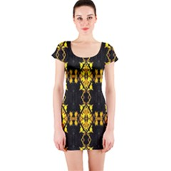 Italy lit0112001018 Short Sleeve Bodycon Dress