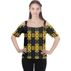 Italy lit0112001018 Women s Cutout Shoulder Tee