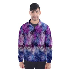 Shabby Floral 2 Wind Breaker (Men)