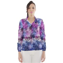 Shabby Floral 2 Wind Breaker (Women)
