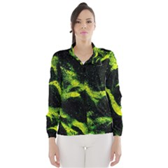 Green Northern Lights Wind Breaker (Women)