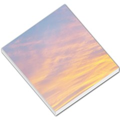 Yellow Blue Pastel Sky Small Memo Pads