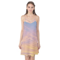 Yellow Blue Pastel Sky Camis Nightgown