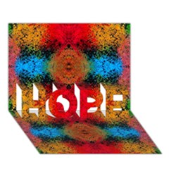 Colorful Goa   Painting HOPE 3D Greeting Card (7x5)