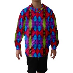 Colorful Painting Goa Pattern Hooded Wind Breaker (kids)