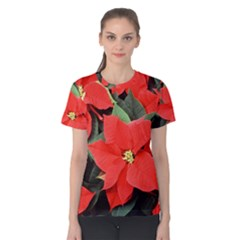 POINSETTIA Women s Cotton Tee