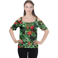 HOLLY 2 Women s Cutout Shoulder Tee