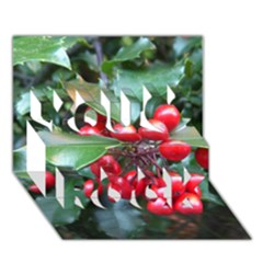 HOLLY 1 You Rock 3D Greeting Card (7x5)