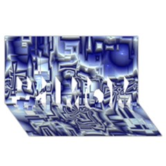 Reflective Illusion 01 #1 MOM 3D Greeting Cards (8x4)