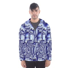 Reflective Illusion 01 Hooded Wind Breaker (Men)