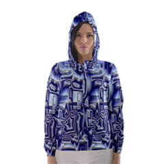 Reflective Illusion 01 Hooded Wind Breaker (Women)