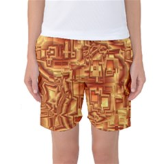 Reflective Illusion 02 Women s Basketball Shorts
