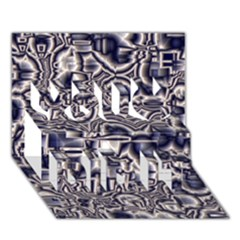 Reflective Illusion 04 You Did It 3D Greeting Card (7x5)