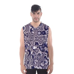 Reflective Illusion 04 Men s Basketball Tank Top