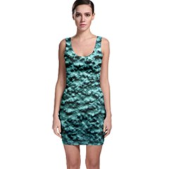 Green Metallic Background, Bodycon Dresses