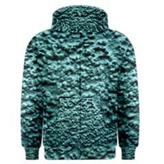Green Metallic Background, Men s Zipper Hoodies
