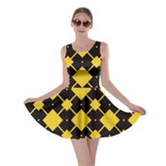 Connected rhombus pattern Skater Dress