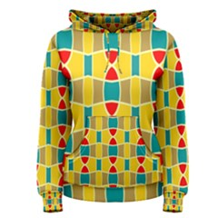 Colorful chains pattern Women s Pullover Hoodie