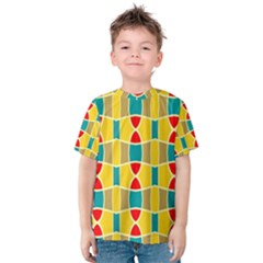 Colorful chains pattern Kid s Cotton Tee