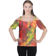 WILD Women s Cutout Shoulder Tee