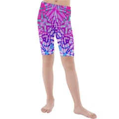 Ethnic Tribal Pattern G327 Kid s Mid Length Swim Shorts