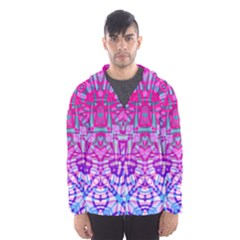 Ethnic Tribal Pattern G327 Hooded Wind Breaker (Men)