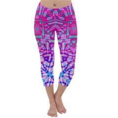 Ethnic Tribal Pattern G327 Capri Winter Leggings
