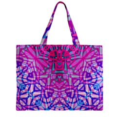 Ethnic Tribal Pattern G327 Zipper Tiny Tote Bags