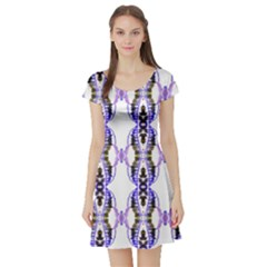 040513004013Y Athens Short Sleeve Skater Dress
