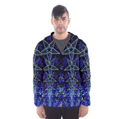 CHRISTMAS STARS Hooded Wind Breaker (Men)