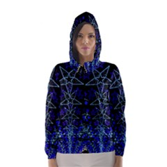 CHRISTMAS STARS Hooded Wind Breaker (Women)