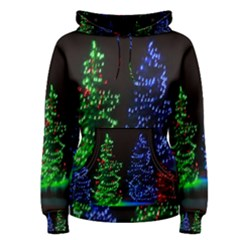 CHRISTMAS LIGHTS 1 Women s Pullover Hoodies