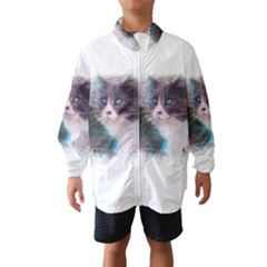 Cat Splash Png Wind Breaker (kids)