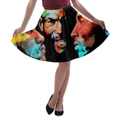 Image A-line Skater Skirt