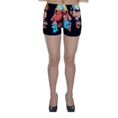 Image Skinny Shorts