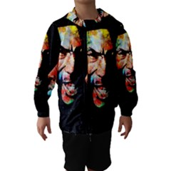 Image Hooded Wind Breaker (Kids)