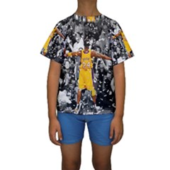 Image Kid s Short Sleeve Swimwear